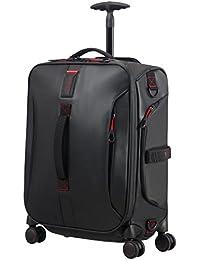 SAMSONITE Paradiver Light - Spinner Duffle Bag 55/20 Bolsa de viaje, 55 cm, 50 liters, Negro (Black)