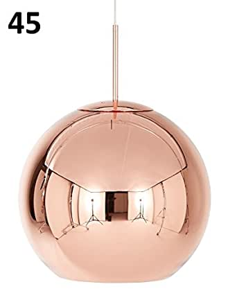 Tom Dixon Copper 45cm Pendant Eu Best Aus Mss45 Spa06eu Amazon