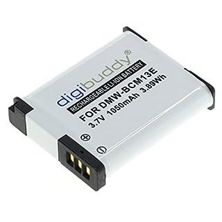 digibuddy Akku für Panasonic DMW-BCM13 Li-Ion Schwarz