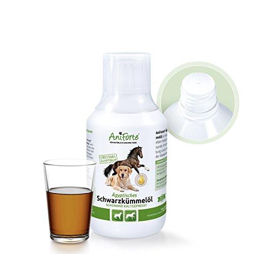 Artikelbild: AniForte Ägyptisches Schwarzkümmelöl 250 ml- Naturprodukt für Hunde