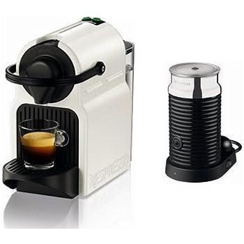 Nespresso Inissia Milk XN 1011 Cafetera de cápsulas, 1260 W ...