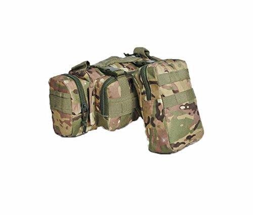 Multifunktionale Im Freien Klettern Kombination Tasche Camping Taktik Tarnung Rucksack Orangecamouflage