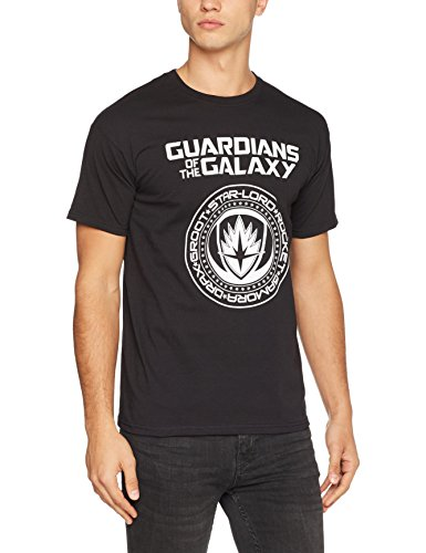 Marvel Herren T-Shirt Schwarz
