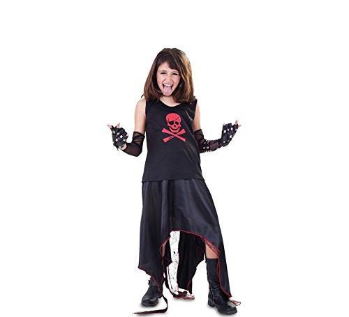 fyasa 705996-t03Punk Infant Mädchen Kostüm, (Weibliche Punk Rock Kostüm)