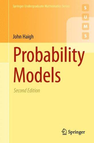 Probability Models (Springer Undergraduate Mathematics Series) par John Haigh