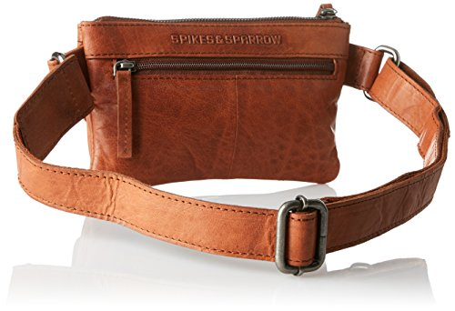 Spikes & Sparrow - Waist Bag, Borse a tracolla Unisex - Adulto Marrone (Brandy)