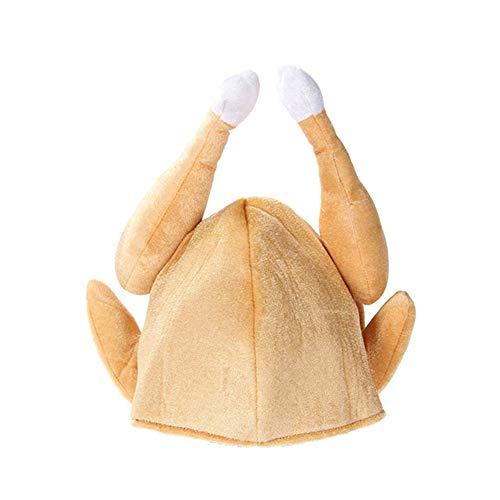 CutogainGebratene Putenhüte aus Baumwolle zum Erntedankfest Halloween-Kostüm Dress Up (Cute Food Halloween Kostüme)
