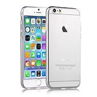 Microsonic, Telefon Kılıfı, Slim Transparent Soft Iphone 6S Plus, Beyaz