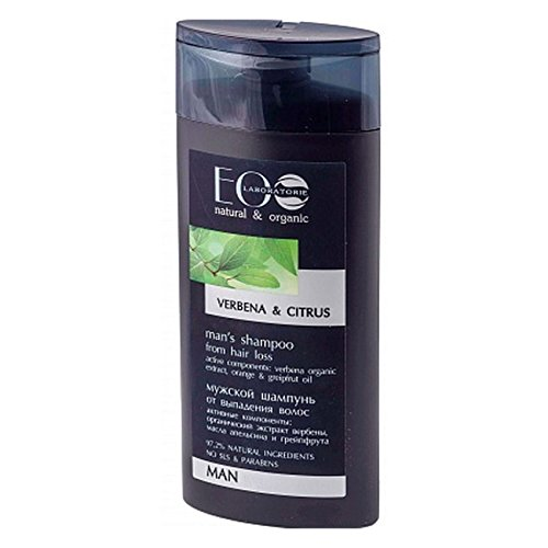 EO Laboratorie Organic Man\'s Shampoo From Hair Loss Verbena & Citrus 250ml