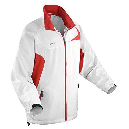 Spiro Pantalon de protection UV Micro Lite Team pour Homme blanc/rouge