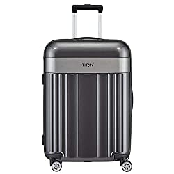 Titan Spotlight Flash, 4-Rollen-Trolley M 67cm, stylischer Hartschalen Koffer