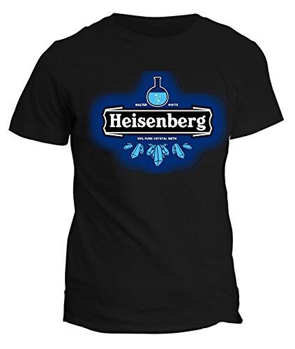 Tshirt heisenberg - walter white - breaking bad - serie tv - in cotone