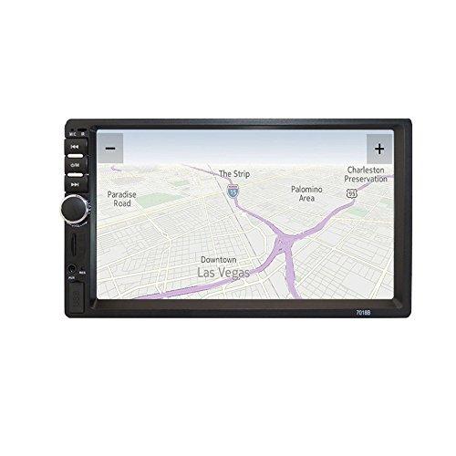 "Swiftswan 7\""HD Touchscreen Bluetooth Auto Stereo Radio FM Funktion Aux USB MP5 Player (Farbe: Schwarz & Grau)"