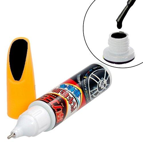 Negro/cepillo de pintura de retoque Pen para coche