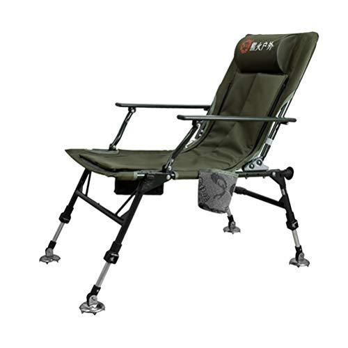 G-YL Outdoor Camping Angeln Stuhl Folding Tragbare Freizeit Europäischen Stil Reclining multifunktions Stuhl Gepolsterte Hocker Angeln Stuhl -/1276