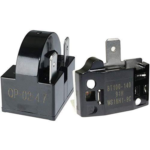 DealMux 1 stücke QP-02-4.7 PTC Kühlschrank Startrelais