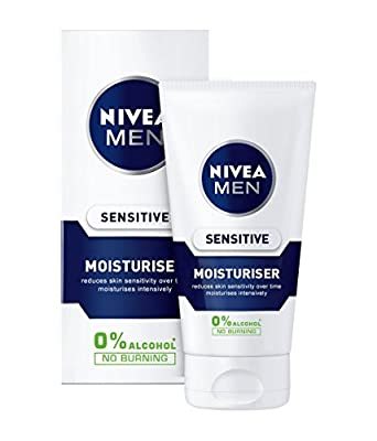 Nivea Men Sensitive Moisturiser, 75 ml - Pack of 2 from Beiersdorf