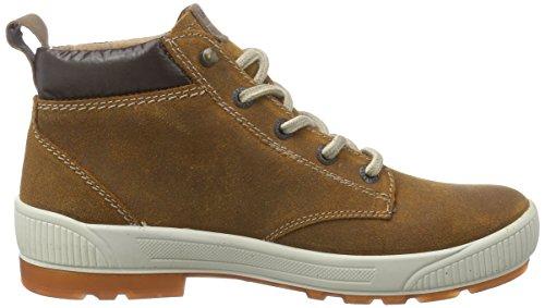 Legero TARO Damen Derby Hohe Sneakers Braun (HASEL 20)