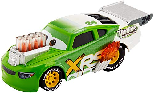 Disney Cars GFV40 - Xtreme Racing Serie Dragster-Rennen Die-Cast Brick Yardley (Car Toy Racing)