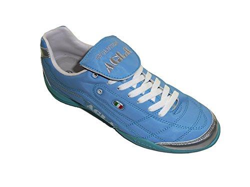 AGLA , Chaussures pour homme spécial foot en salle bleu ciel