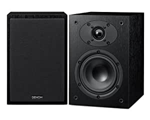 Denon SCF109 Speakers for use with RCD-M39DAB Micro Component System - Black