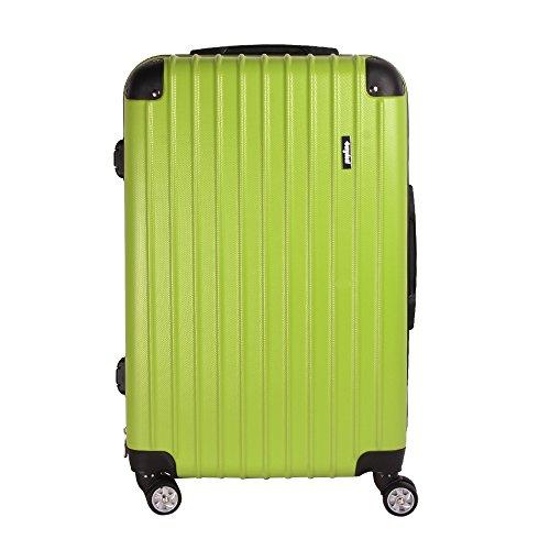 eforink-hard-shell-lightweight-travel-luggage-suitcase-4-wheel-spinner-trolley-bag-24-aqua-