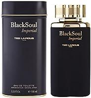 Ted Lapidus Black Soul Imperial For Men - Eau de Toilette, 100 ml