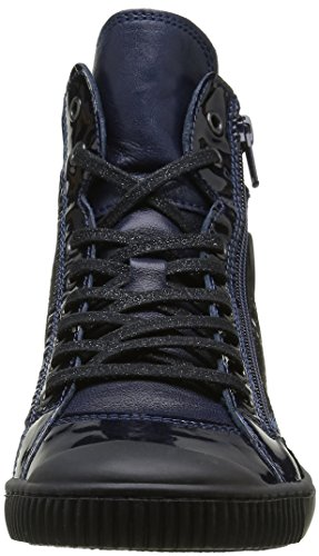 Pataugas Bono/S F4b, Baskets Hautes Femme Bleu (Marine)