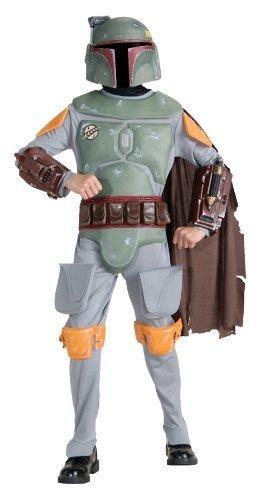 Boba Fett Deluxe Child Costume (Medium) by Halloween (Fett Kostüme Kinder Deluxe Boba)