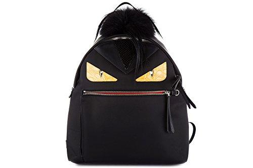 Imagen de fendi  bolso de mujer nuevo elaphe occhi mostro caimano negro alternativa