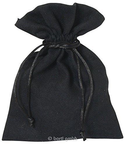 Samtsäckchen groß schwarz
