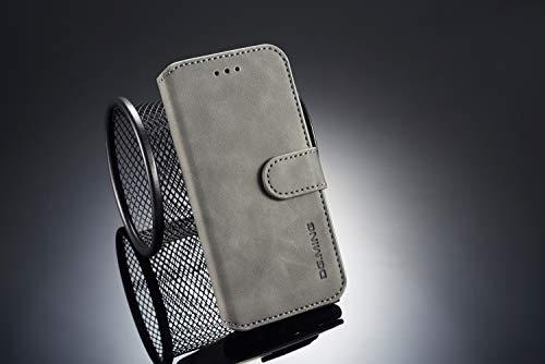 Obamono iPhone 6 iPhone 6s 4,7-Zoll-Geldbörsen-Etui, [Folio Stil] Prämie-Kartenetuis Ständerfunktion Haut Abdeckung Abdecken für iPhone 6 iPhone 6s 4,7 Zoll [Grau]