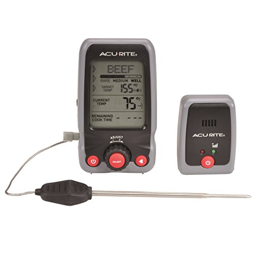 AcuRite 00278 Digital Meat Thermometer and Timer with Pager by AcuRite Chaney Timer