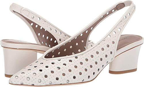 Donald J Pliner Frauen Pumps Weiss Groesse 9.5 US /41 EU - Donald J Pliner Print Pumps