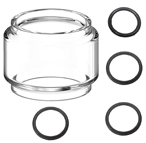 Waipawama Ersatzglas Smok TFV12 Prince Tank Bubble Glas + Dichtungsringe, 8,0 ml