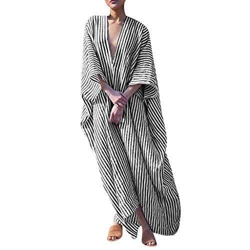 COCODE Einfarbiger Rundhalsausschnitt Mit Kurzen ÄRmeln Mode Womens Solid O-Neck Kurzarm LäSsige Swing Lose (Ebay Frozen Kostüm)