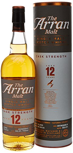 Arran Whisky 12 Years Cask Strength - 700 ml