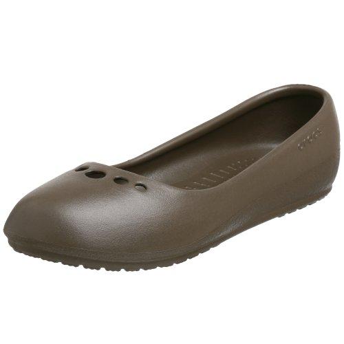 Ballerinas Schokolade (Crocs Prima 10028-200-046, Damen  Ballerinas, schokolade, 42 EU / 8 UK)
