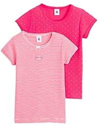 Petit Bateau Mädchen T-Shirt Lot 2p T Shirt Mc