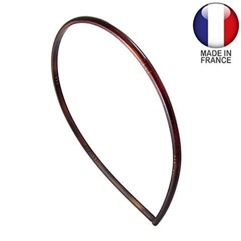 Hair Clip–Headband Hoops For Hair French MM4Brown