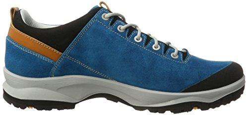 AKU La Val Low Gtx, Chaussures de Randonnée Basses homme Türkis (Turquoise/Orange)