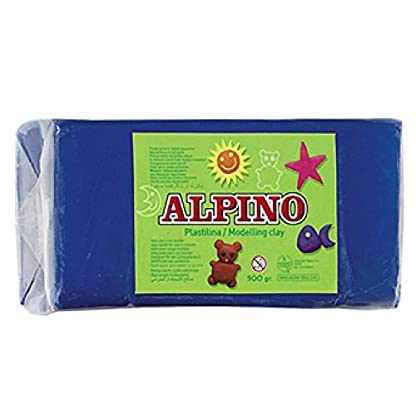 Alpino DP000074 – Plastilina, color azul