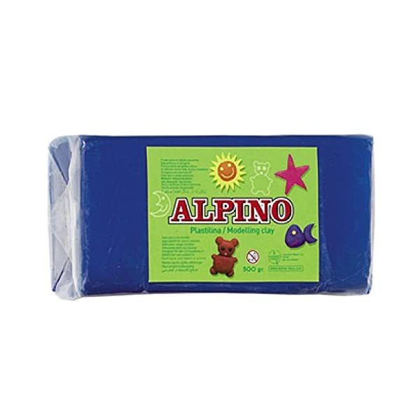 Alpino DP000074 – Plastilina, color azul