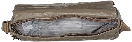 Kipling - Earthbeat M, Borse a tracolla Donna Marrone (Lacquer Sand)