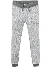 Z Jogging Molleton Gris Chiné, Pantalon de Sport Garçon