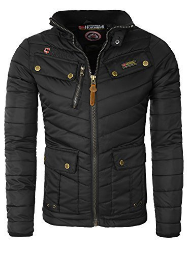 Geographical Norway - Chaqueta para hombre, negro, Medium