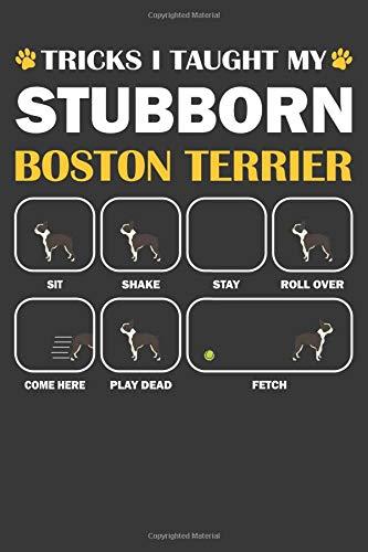 Boston Terrier Journal: A Boston Terrier Notebook Gift For Dog Lover's | 6