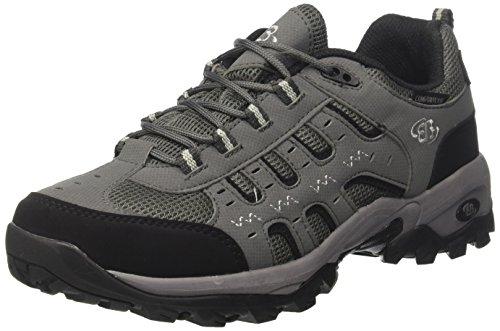 Brütting Montreal, Chaussures de Randonnée Basses Homme Gris (Grau/schwarz)