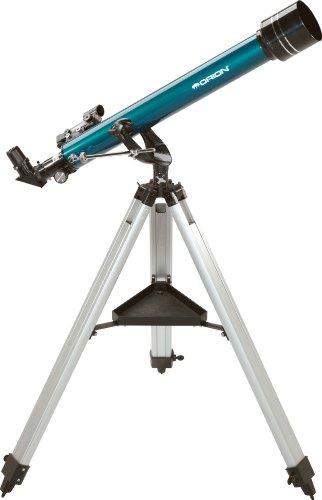 Orion 11042–Observer 60mm Altazimuth–Telescopio Refractor (Azul)