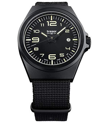 traser H3 Herrenuhr P59 Essential M Schwarz 108218